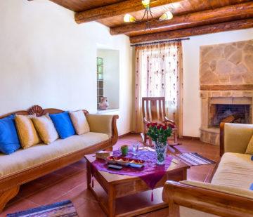 Séjour en famille en villa privative en Crète