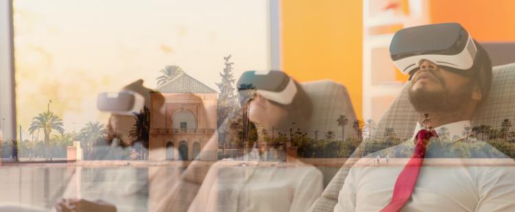 "Voyage virtuel ""anti-coronavirus"" à Marrakech"
